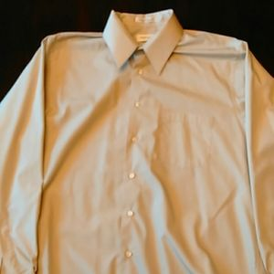 Van Heusen Mens Button Up Long Sleeve Shirt XL